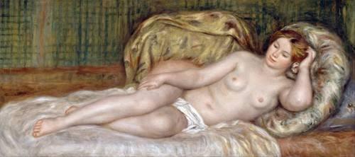 kuenstlerische-aktbilder - Grand nu, 1907 - Renoir, Pierre Auguste