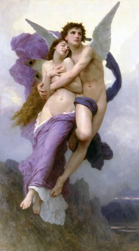 portraetgemaelde - El rapto de Psique - Bouguereau, William