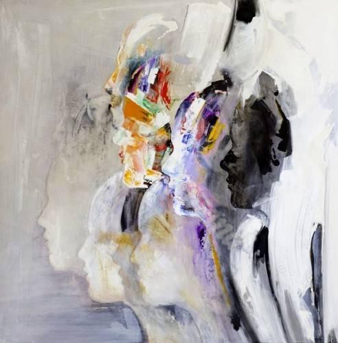 abstrakte-gemaelde - Abstrakt RM-022 - Martinez, Rafael