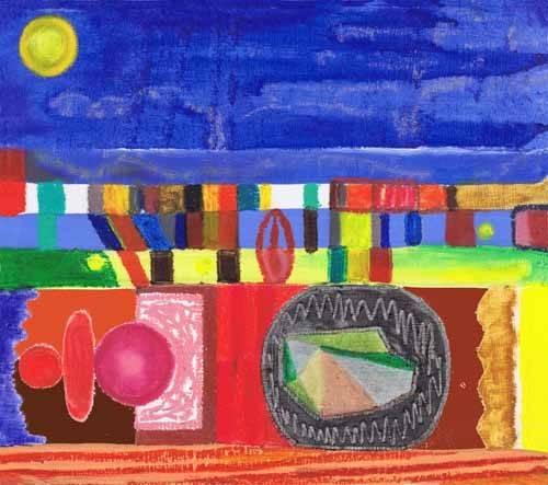 orientalische-gemaelde - Nocturnal, 2002 - Wilson, Tom
