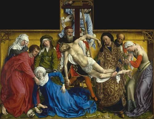 religioese-gemaelde - El Descendimiento - Van der Weiden, Rogier