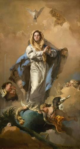 religioese-gemaelde - La Inmaculada Concepción - Tiepolo, Giovanni Battista