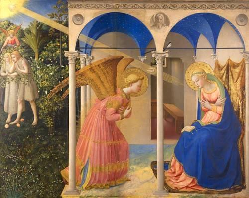 religioese-gemaelde - L'annonciation - Fra Angelico, G. Da Fisole