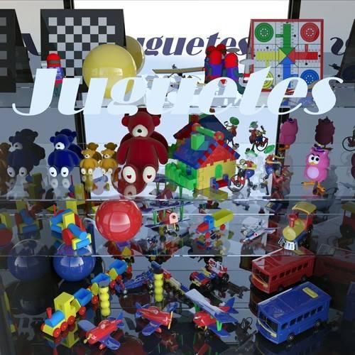 moderne-gemaelde - La tienda de juguetes - Aguirre Vila-Coro, Juan
