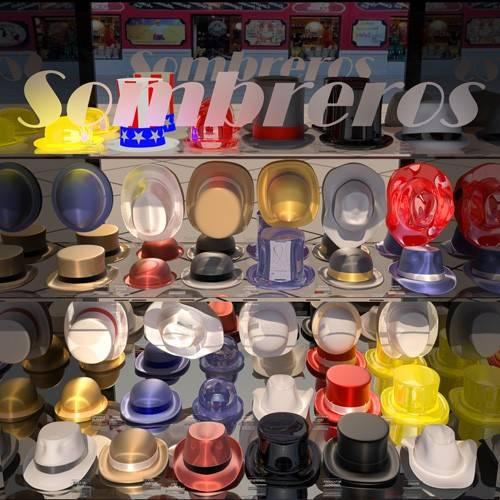 moderne-gemaelde - La tienda de sombreros - Aguirre Vila-Coro, Juan