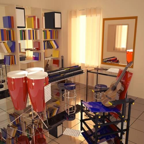 moderne-gemaelde - El cuarto de Javier - Aguirre Vila-Coro, Juan