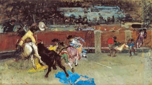 tiermalereien - Corrida de toros - Fortuny y Marsal, Mariano