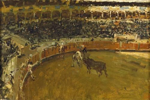 tiermalereien - La corrida de toros - Fortuny y Marsal, Mariano