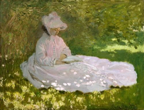landschaften-gemaelde - Printemps, 1872 - Monet, Claude