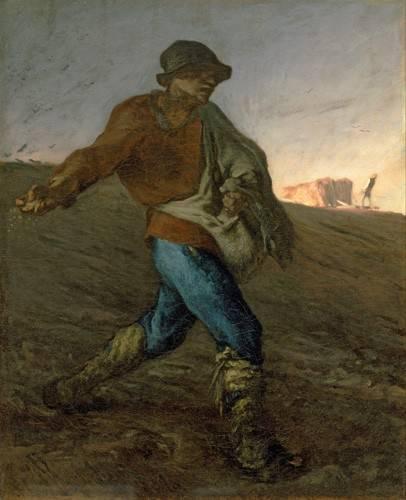 portraetgemaelde - Le semeur - Millet, Jean François