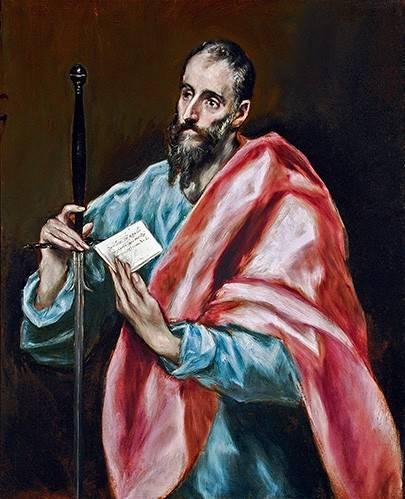 religioese-gemaelde - San Pablo - Greco, El (D. Theotocopoulos)