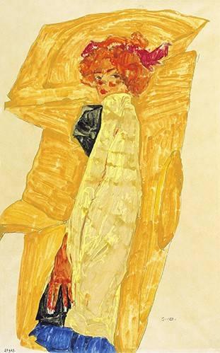 portraetgemaelde - Alb Wien - Schiele, Egon