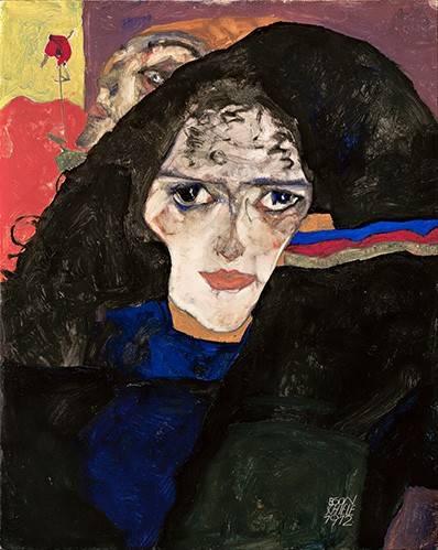 portraetgemaelde - Mourning Woman, 1912 - Schiele, Egon