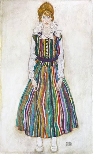 portraetgemaelde - Portrait of Edith (the artist's wife), 1915 - Schiele, Egon