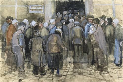 portraetgemaelde - Les pauvres et l'argent, 1882 - Van Gogh, Vincent