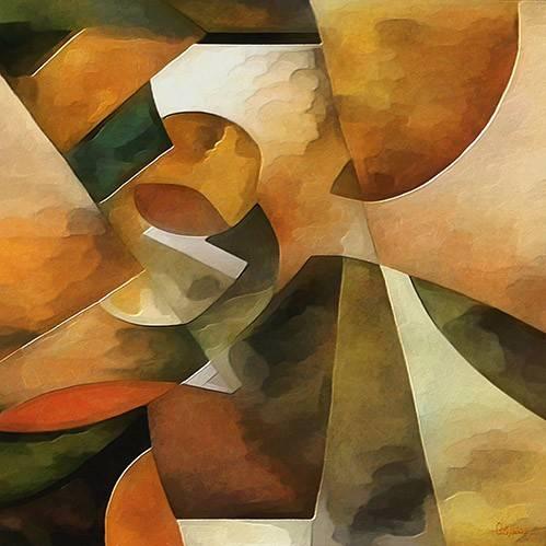 abstrakte-gemaelde - Moderno CM8888 - Medeiros, Celito