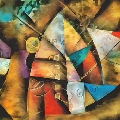 abstrakte-gemaelde - Moderno CM9002 - Medeiros, Celito