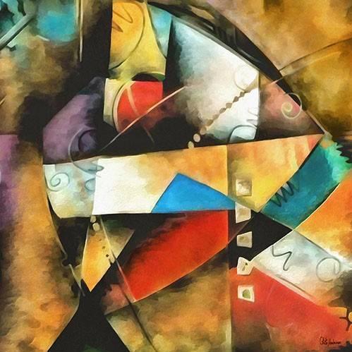 abstrakte-gemaelde - Moderno CM9004 - Medeiros, Celito