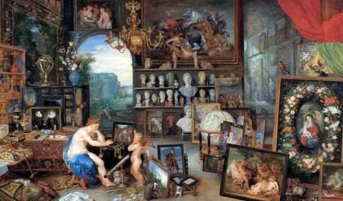 portraetgemaelde - El sentido de la vista - Bruegel