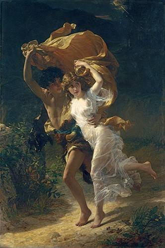 portraetgemaelde - The Storm, 1880 - Cot, Pierre-Auguste