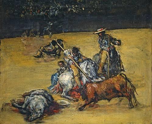 tiermalereien - Corrida de toros - Goya y Lucientes, Francisco de