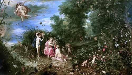 portraetgemaelde - Los cuatro elementos - Bruegel