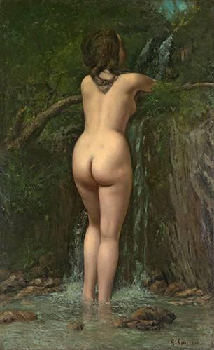 portraetgemaelde - La Fuente- (Courbet) - Courbet, Gustave
