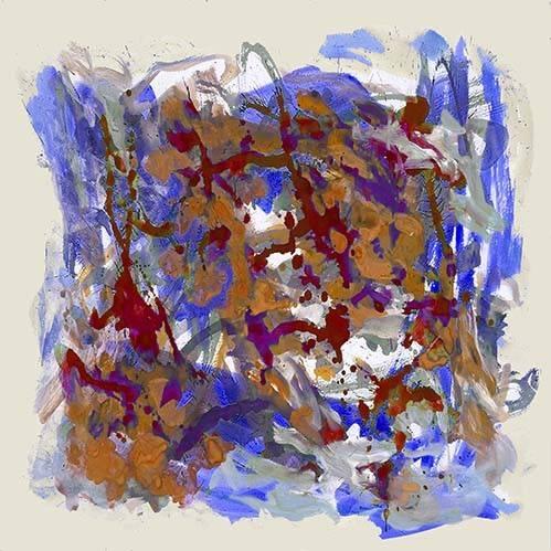 abstrakte-gemaelde - Abstrakt, Europakarte - Ricardo, Emilio