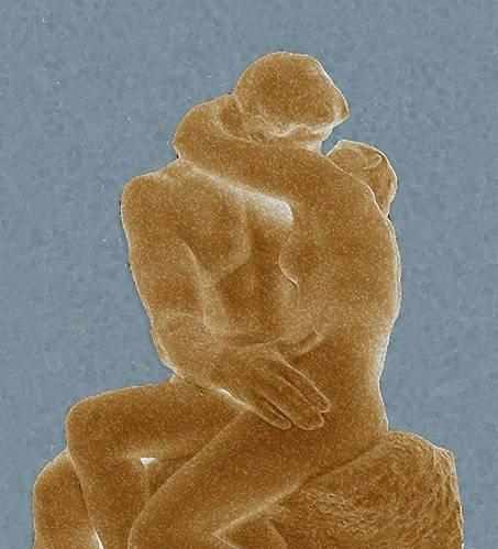 moderne-gemaelde - Le Baiser - Rodin, Auguste