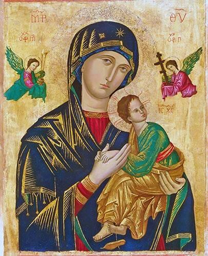 religioese-gemaelde - Virgen Del Perpetuo Socorro - _Anonym