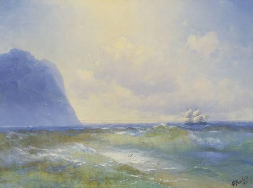 seelandschaft - Schiff auf See - Aivazovsky, Ivan Konstantinovich