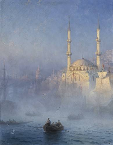 seelandschaft - Konstantinopel - Aivazovsky, Ivan Konstantinovich