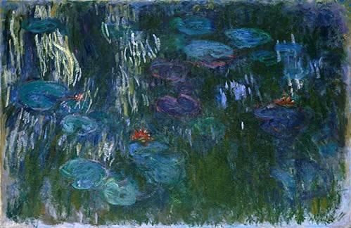 landschaften-gemaelde - Nymphéas (2) - Monet, Claude