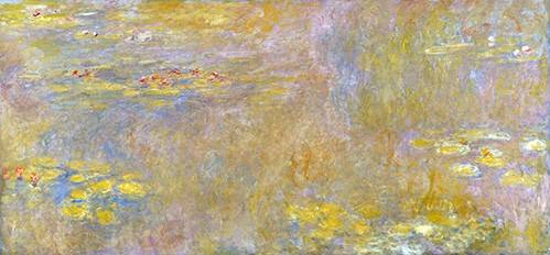 landschaften-gemaelde - Nympheas - Monet, Claude