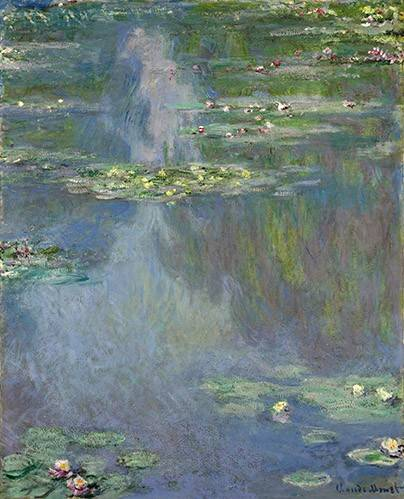 landschaften-gemaelde - Nymphéas - Monet, Claude