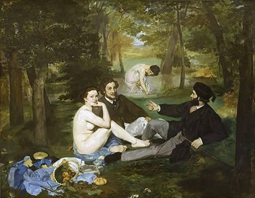 portraetgemaelde - Le Déjeuner sur l'Herbe, 1863 - Manet, Eduard