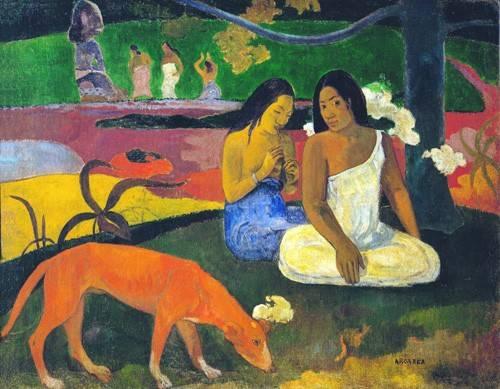 portraetgemaelde - Arearea - Gauguin, Paul