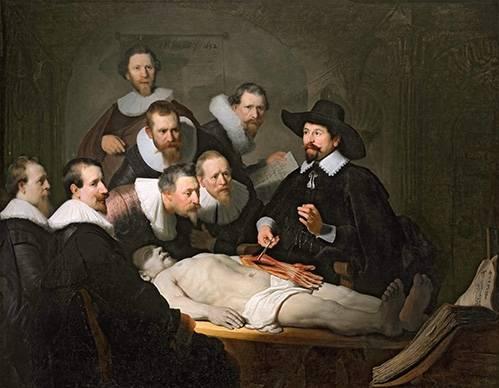 portraetgemaelde - La Leçon d'anatomie du docteur Tulp - Rembrandt, Hermensz Van Rijn