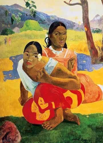 portraetgemaelde - ¿Cuándo te casas? (1892) - Gauguin, Paul