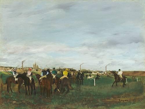 tiermalereien - Les courses - Degas, Edgar