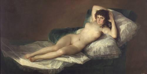 portraetgemaelde - La maja desnuda - Goya y Lucientes, Francisco de