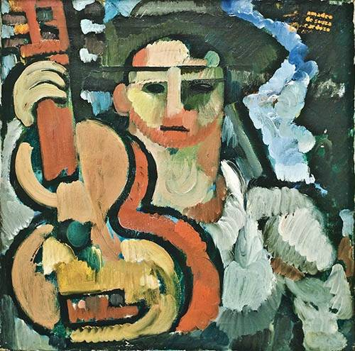 portraetgemaelde - Cavaquinho, 1914-15 - Souza-Cardoso, Amadeo de