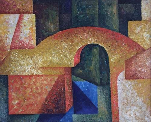abstrakte-gemaelde - Pont - Souza-Cardoso, Amadeo de