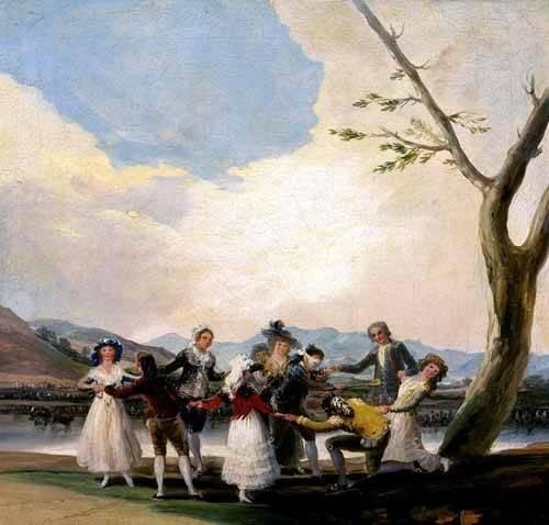 portraetgemaelde - La gallina ciega - Goya y Lucientes, Francisco de
