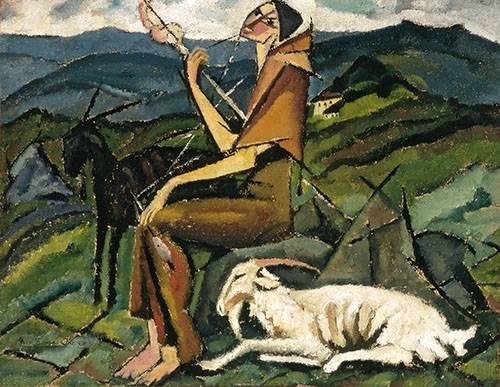 portraetgemaelde - Fiandeira, 1913 - Souza-Cardoso, Amadeo de