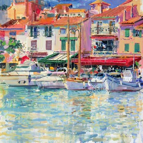 moderne-gemaelde - Mirabeau, 1997 (oil on canvas) - Graham, Peter