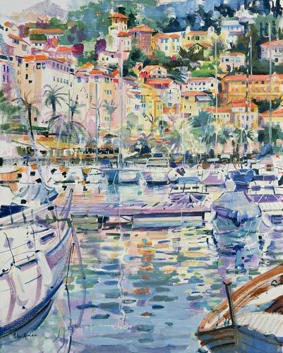 moderne-gemaelde - Riviera Yacht, 1996 - Graham, Peter