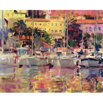 Seelandschaft - Golden Harbour Vista - Graham, Peter