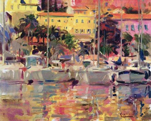 moderne-gemaelde - Golden Harbour Vista - Graham, Peter