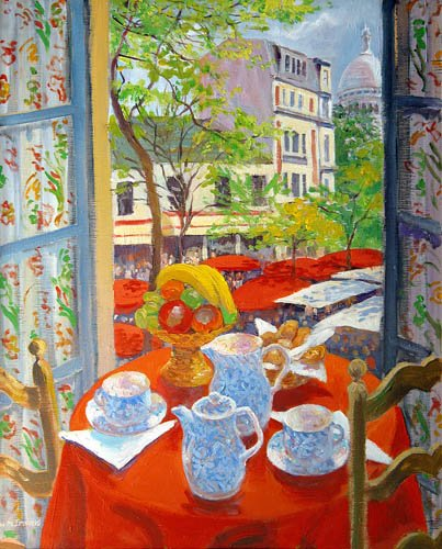 moderne-gemaelde - Montmartre, 2003 - Ireland, William